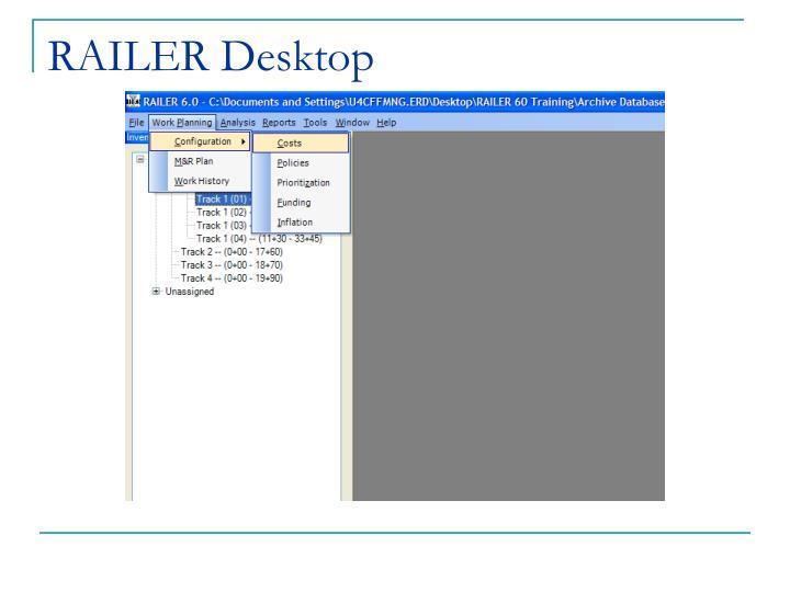 RAILER Desktop