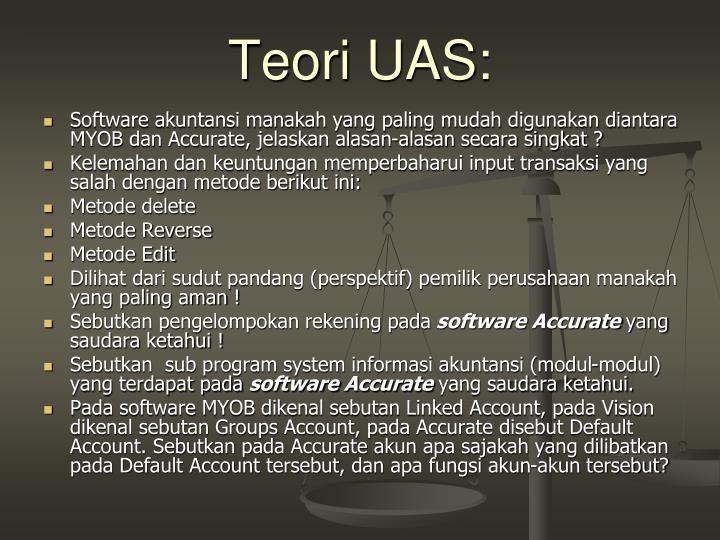 Teori UAS: