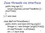 java threads via interface1