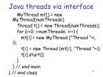 java threads via interface2