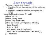 java threads1