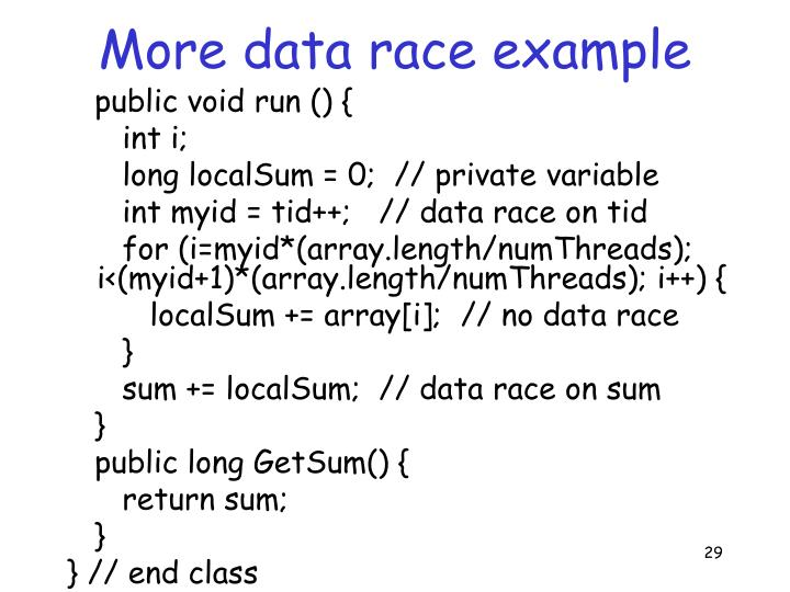 More data race example