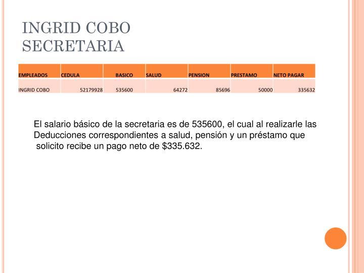 INGRID COBO