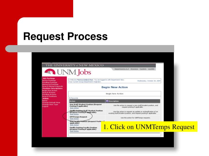 Request process