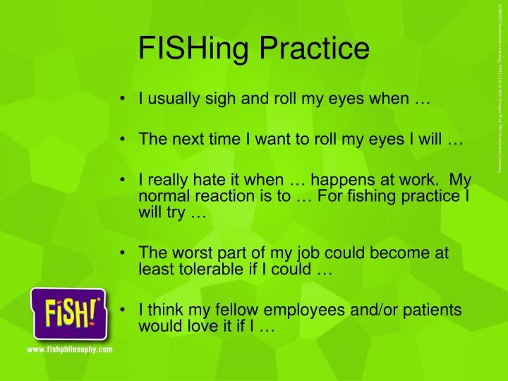 FISHing Practice