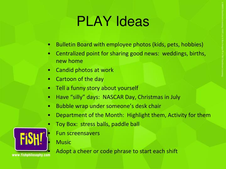 PLAY Ideas