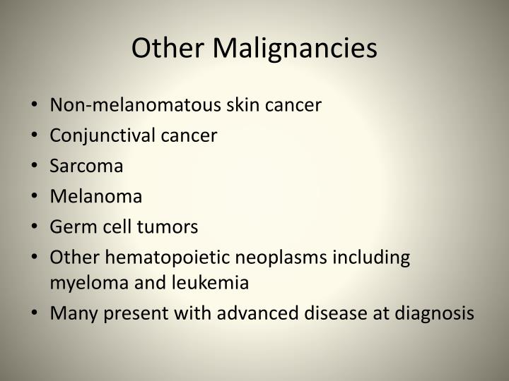 Other Malignancies
