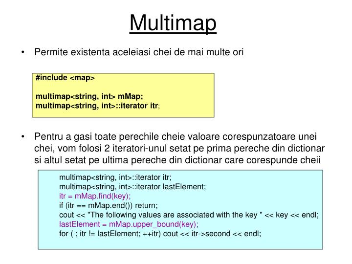 Multimap