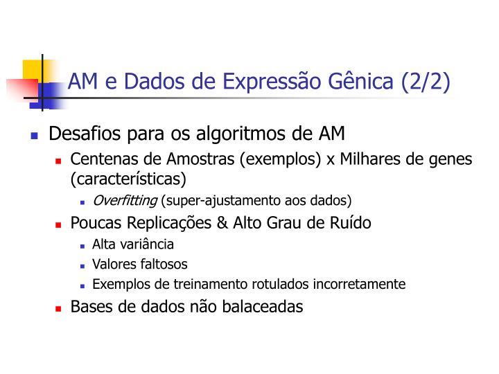 AM e Dados de Expressão Gênica (2/2)