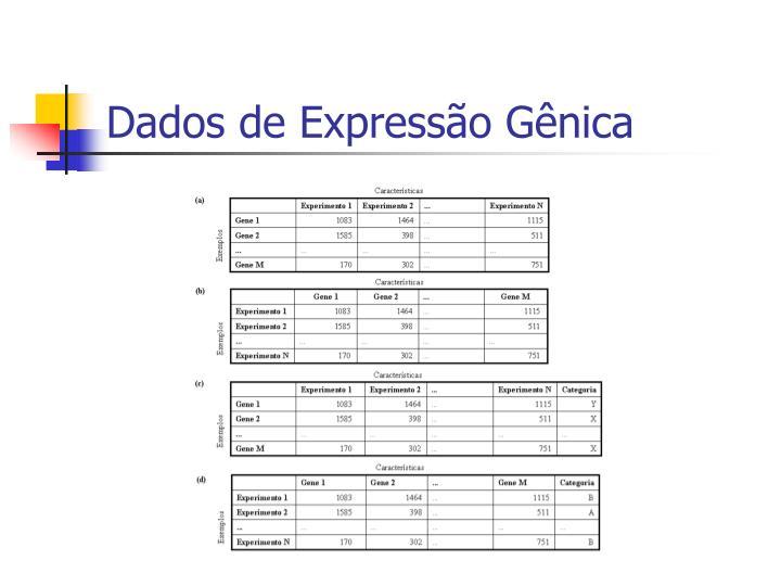 Dados de Expressão Gênica