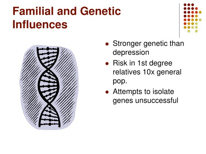 Familial and Genetic Influences