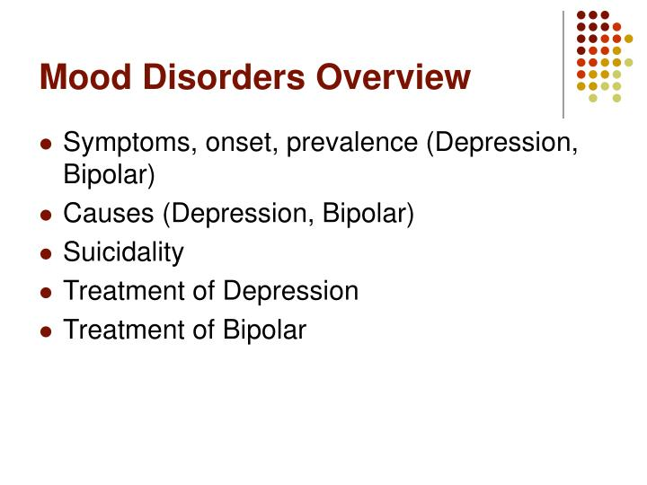 Mood Disorders Overview