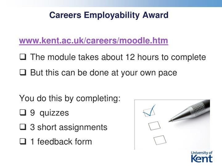 Careers Employability Award