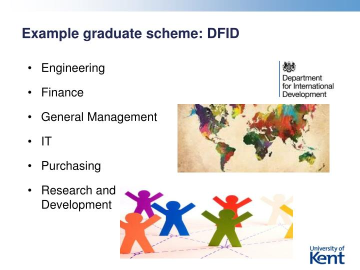 Example graduate scheme: DFID