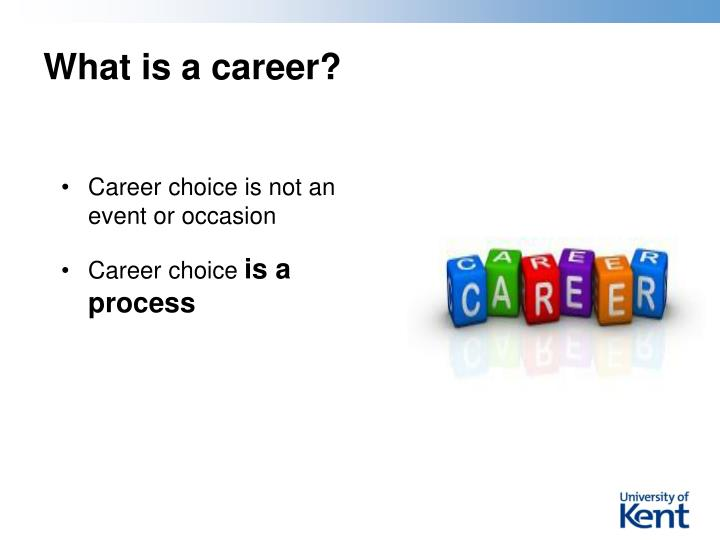 What is a career?