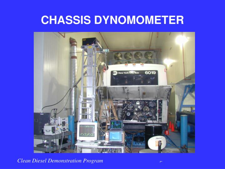 CHASSIS DYNOMOMETER