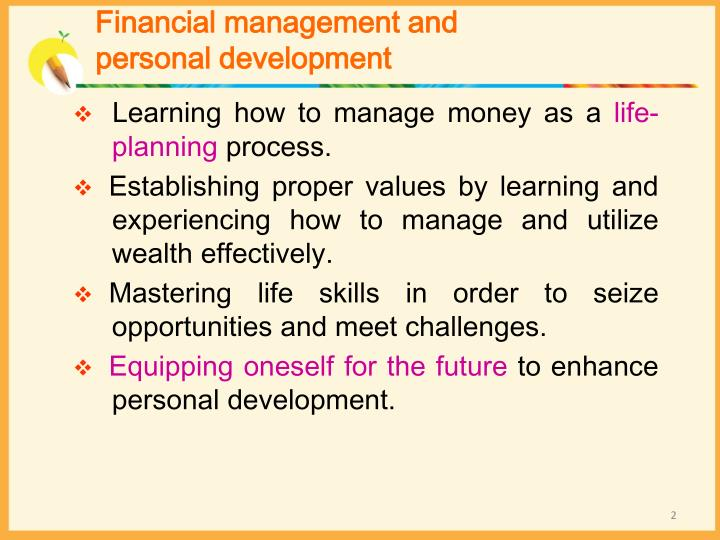 Financial management and