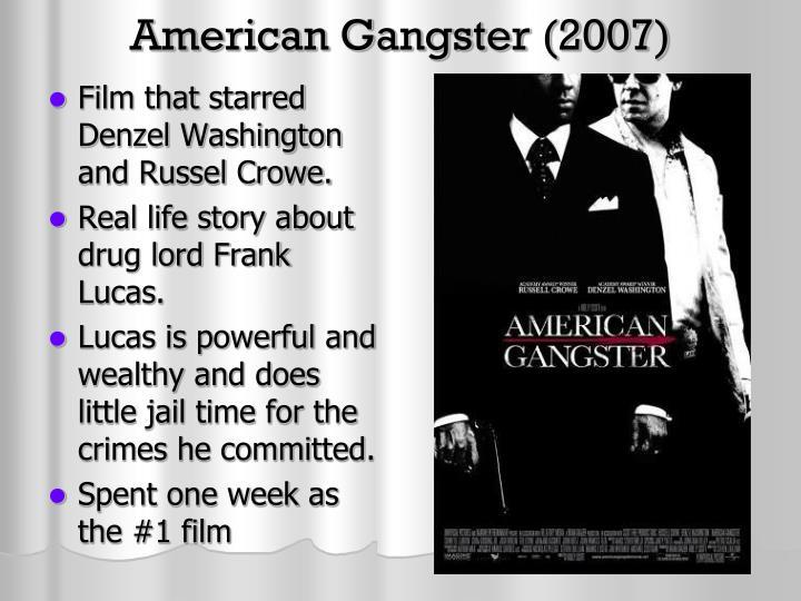 American Gangster Movie Plot Best 2012 Series To Watch