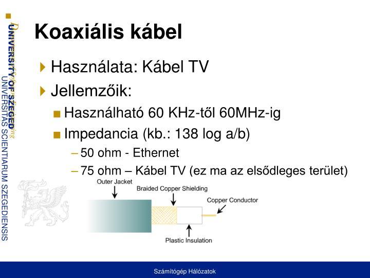 Koaxiális kábel
