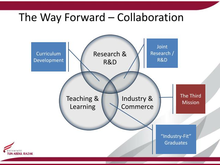 The Way Forward – Collaboration