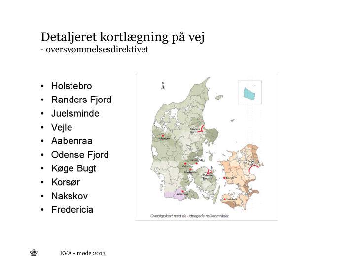 Detaljeret kortlægning på vej