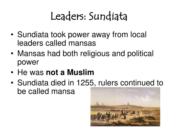 Leaders: Sundiata