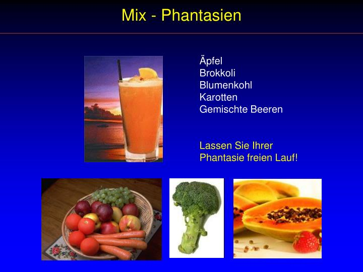 Mix - Phantasien