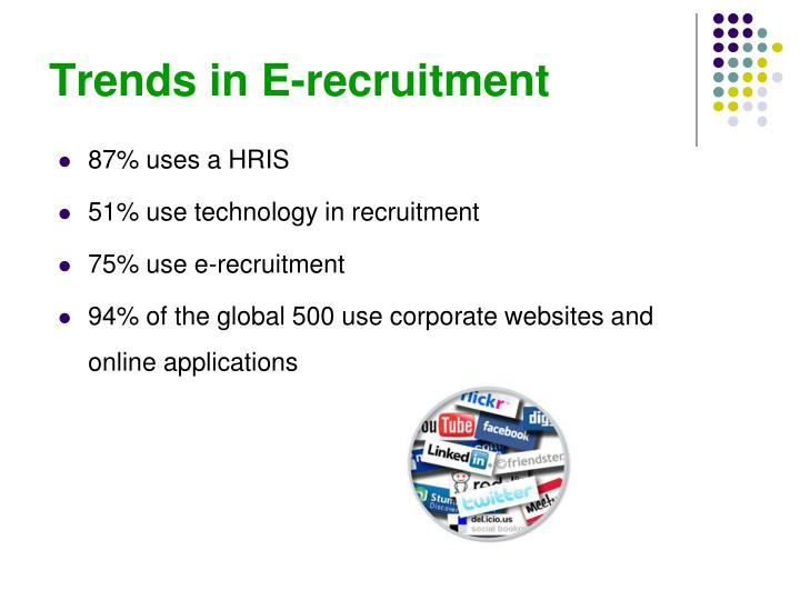 Trends in E-recruitment