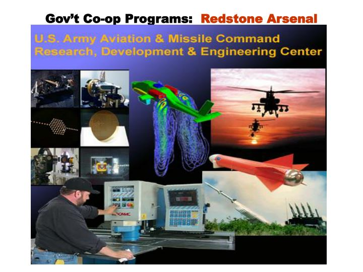 Gov't Co-op Programs: