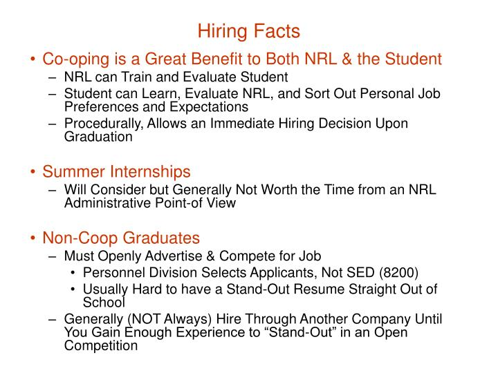 Hiring Facts