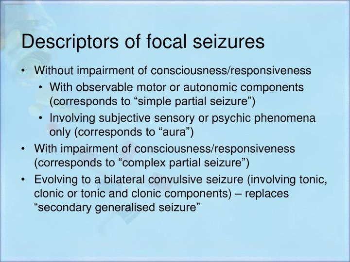 Ppt Ilae Classification Of Epilepsy Update Powerpoint