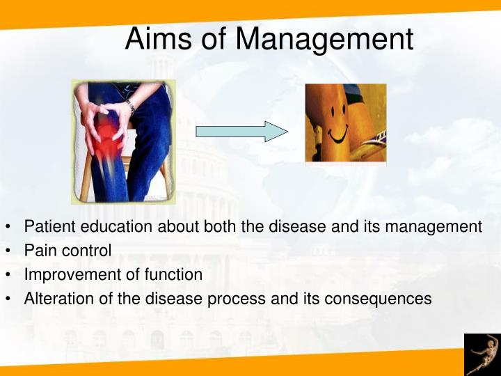 Aims of Management