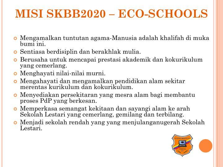 MISI SKBB2020 – ECO-SCHOOLS
