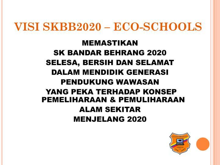 VISI SKBB2020 – ECO-SCHOOLS