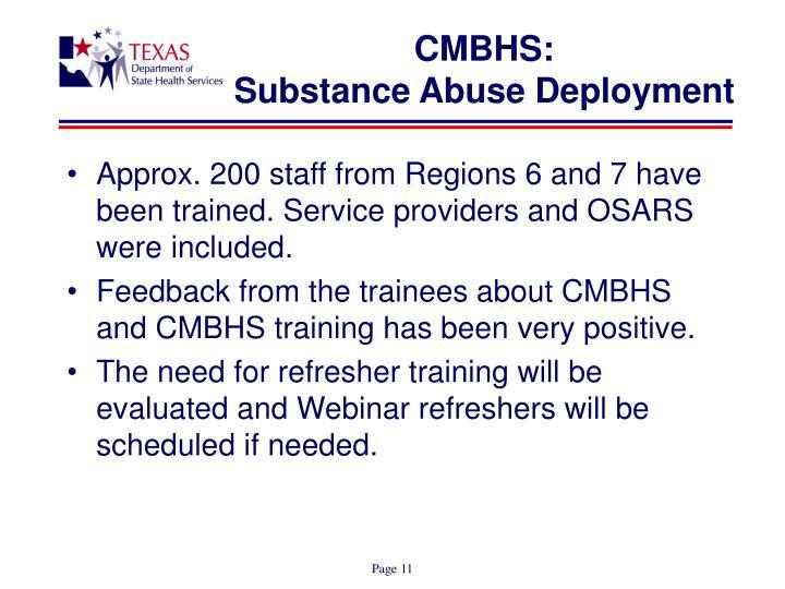 CMBHS: