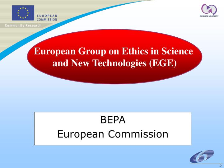 European Group on Ethics in Science