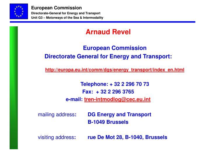 Arnaud Revel