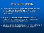 vita activa 1958