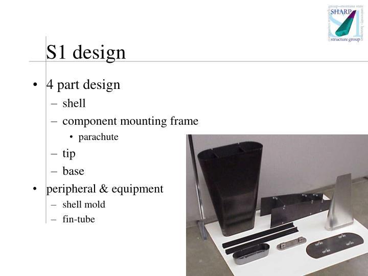 S1 design