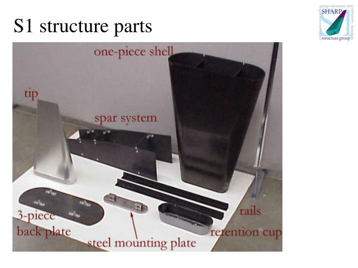 S1 structure parts