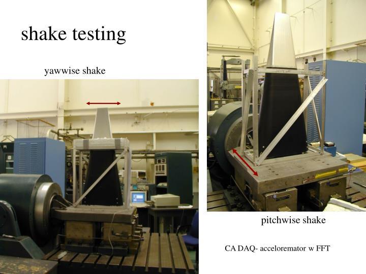 shake testing