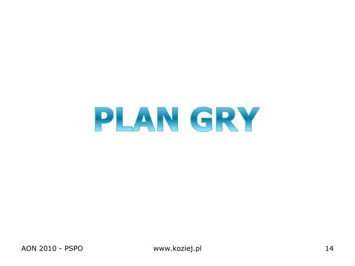 PLAN GRY