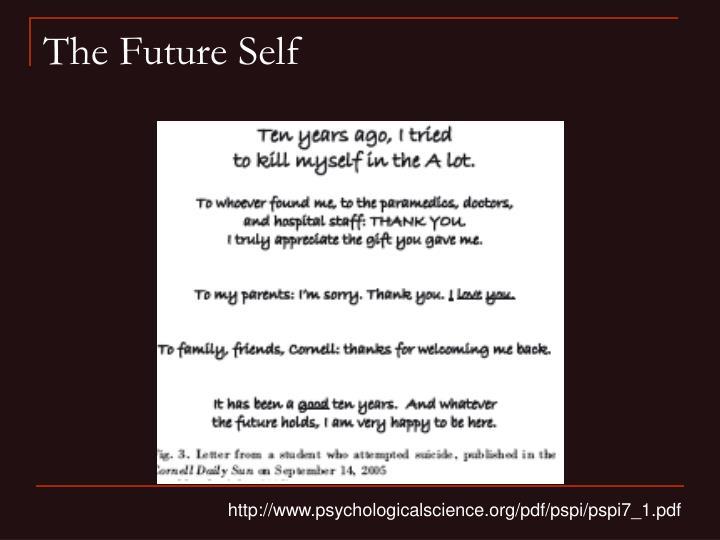 The Future Self