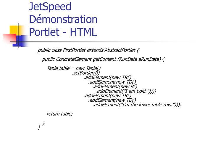public class FirstPortlet extends AbstractPortlet {