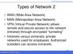 types of network 2