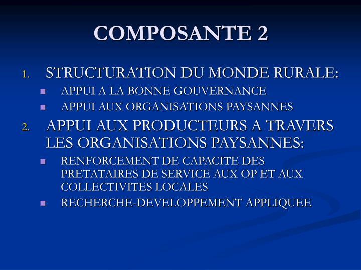 COMPOSANTE 2