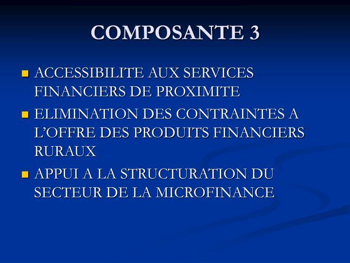 COMPOSANTE 3