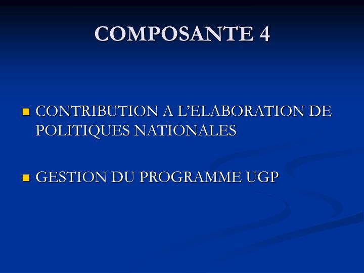 COMPOSANTE 4