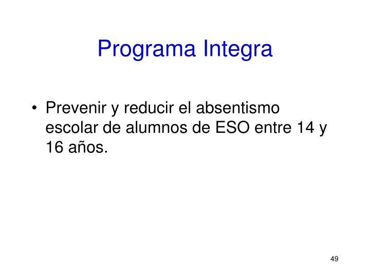 Programa Integra