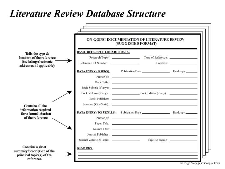literature review data warehousing Handbook for conducting a literature-based health assessment using ohat approach for systematic review and evidence integration january 9, 2015.